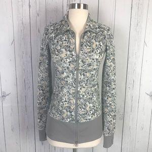 Lululemon printed jacket | size 4